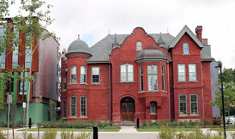 Taylor House with Shim-Sutcliffe addition to left