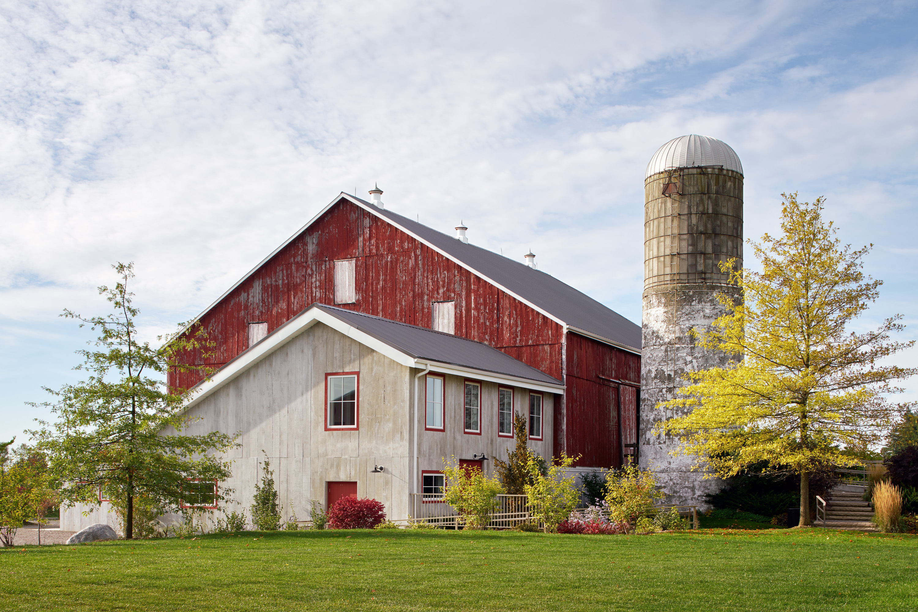 Exterior of Cambium Farms