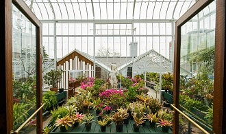 Greenhouse at the Parkwood Estate National Historic Site.