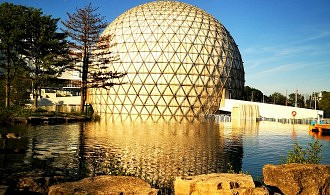 The Cinesphere at Ontario Place