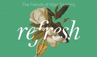 Friends of Allan Gardens refresh cover