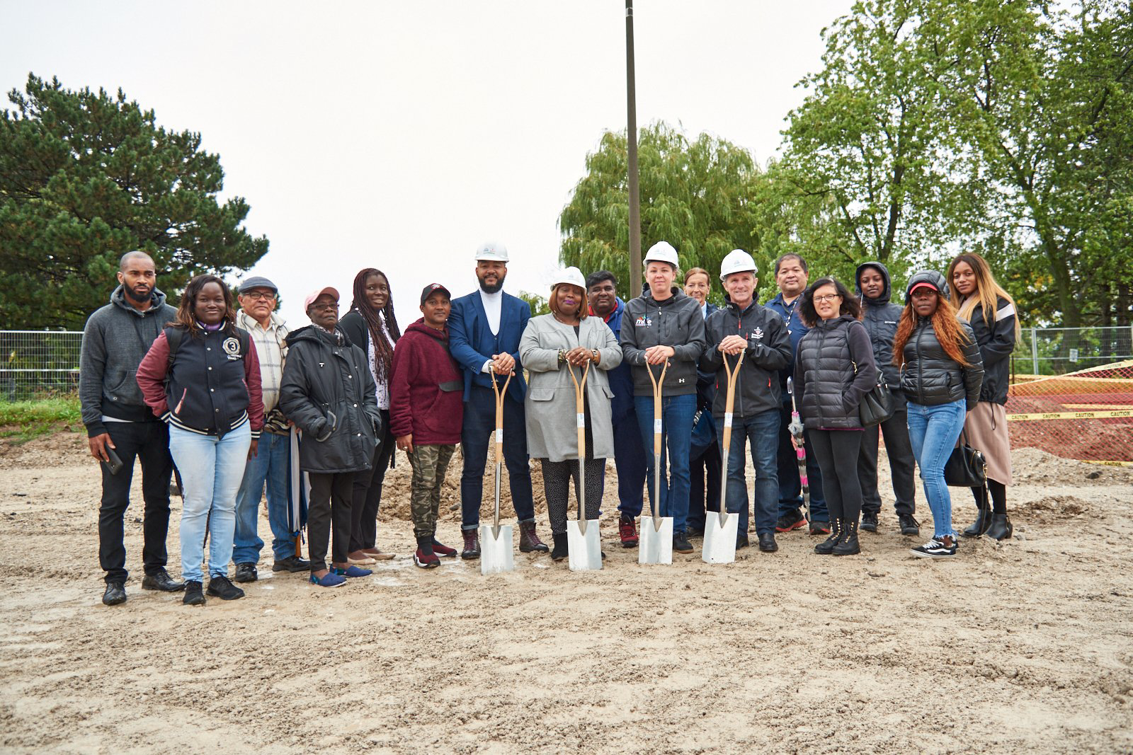 Breaking ground at Gordonridge