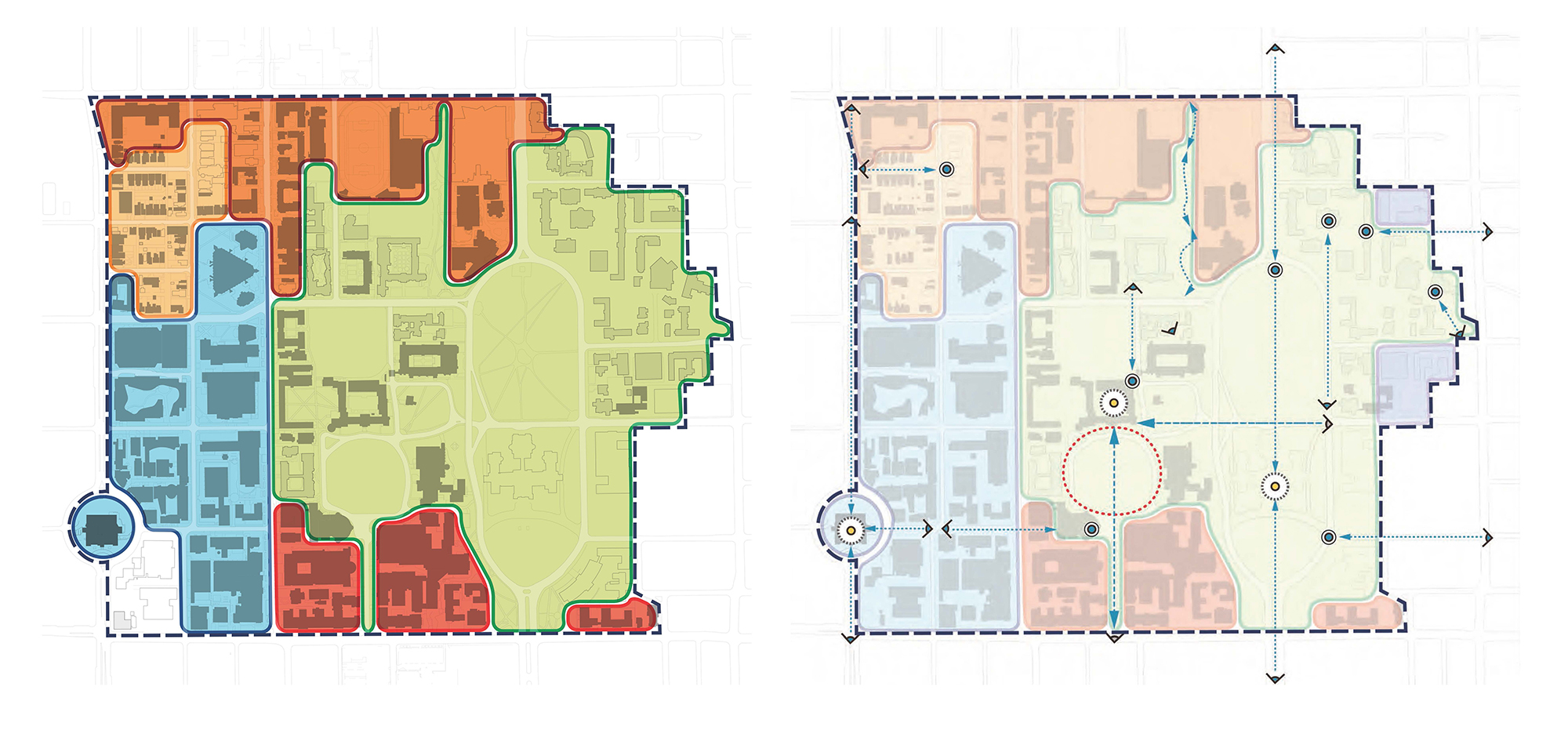 Diagram from the U of T Secondary Plan