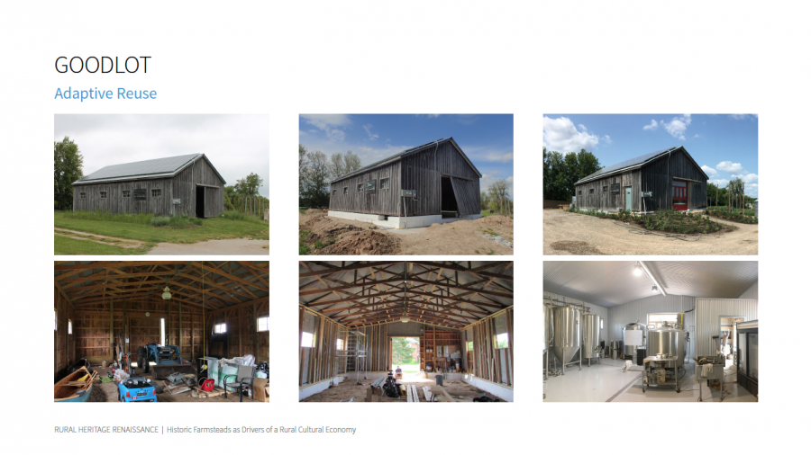 Goodlot adaptive reuse stages