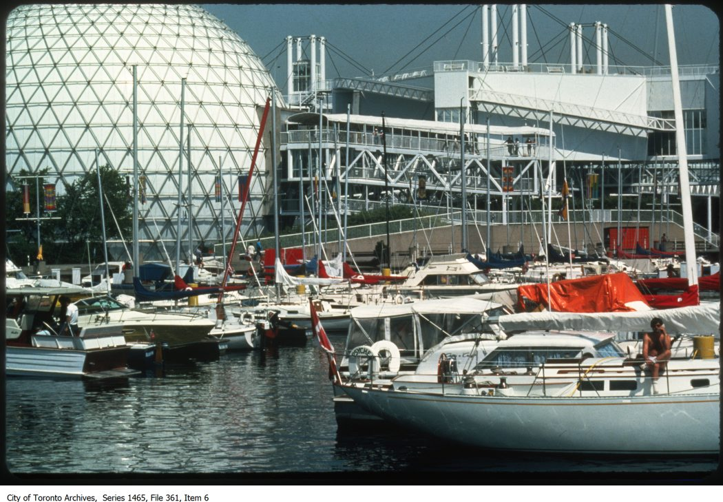 Ontario Place - the Forum and exterior views.. - 1980-1987